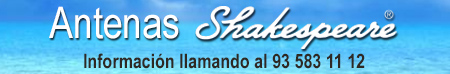 Antenas Shakespeare Información al 935831112
