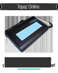 Capturadoras de Firma Topaz Online