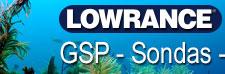 Lowrance GPS Sondas Plotter Radar