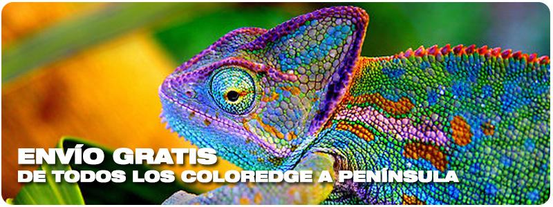 Envío Gratis de todos los Coloredge a Península