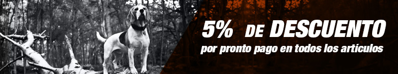 5% de descuento por prontopago en todos los articulos