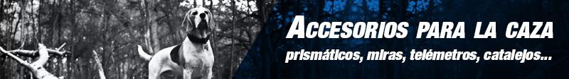 Accesorios para la caza: prismáticos, miras, telémetros, catalejos...