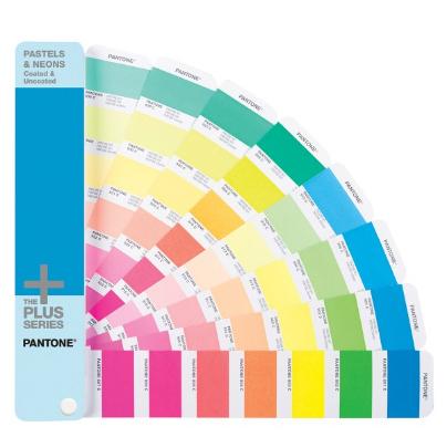 Guía de color directo Pantone de pasteles y fluorescentes - Coated y Uncoated