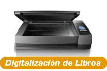 digitalización de libros