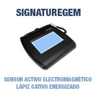 Topaz Signaturegem - Sensor activo electromagnético - lápiz activo energizado