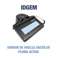 Topaz Idgem - Sensor de Huella Dactilar - Pluma Activa