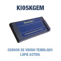 Topaz Kioskgem - Sensor de Vidrio Templado - Lápiz Activo