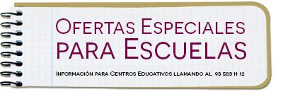 Ofertas Especiales para Escuelas