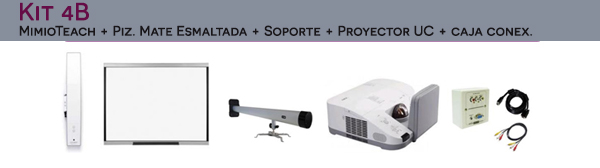 Kit Oferta Mimio con proyector ultracorto