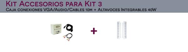 Kit Accesorios para Kit 3