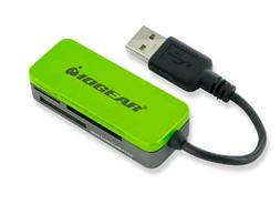 IOGEAR Lector USB de Tarjetas Memoria 12 en 1