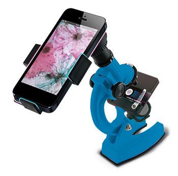 """Microscopio didactico""""KONUSTUDY-4"""" 900x con adaptador Smartphone"""