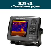 HDS 5X + transductor 50/200