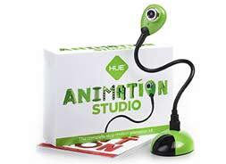 HUE HD Animation Studio Camara Cuello Flex USB + Animation