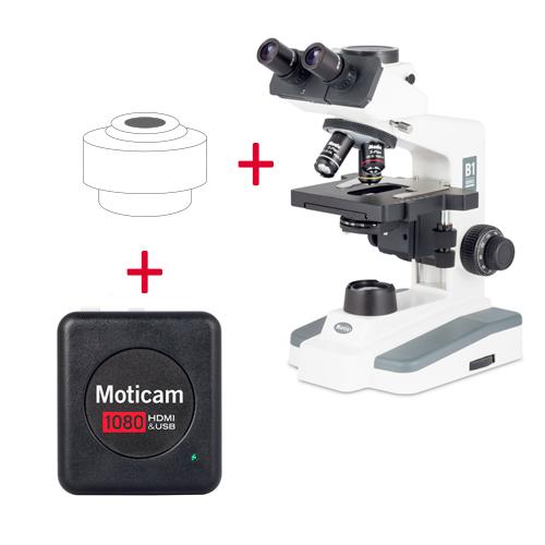 Pack: B1-223E SP + Moticam 1080