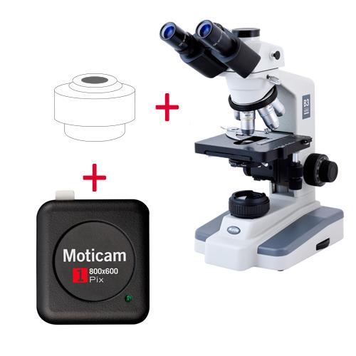 Pack: B3-223PL + Moticam 1
