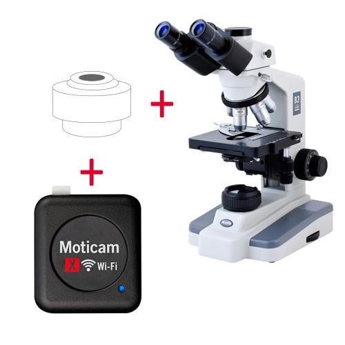 Pack: B3-223PL + Moticam X