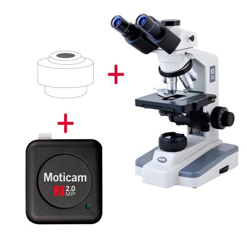 Pack: B3-223PL + Moticam 2