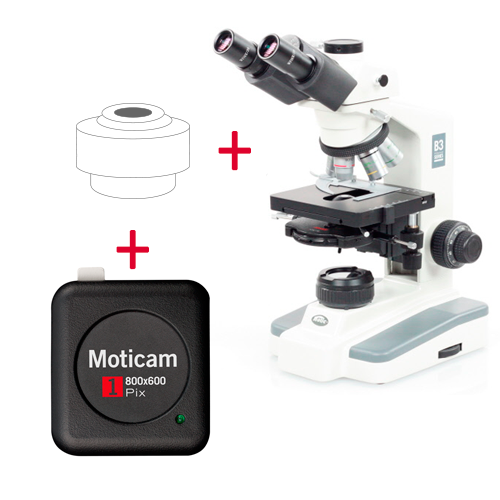 Pack: B3-223Phase + Moticam 1
